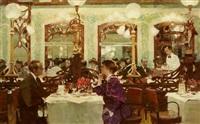 soirée 1930 chez mollard by victor guerrier