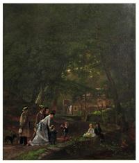 picnic in the glen by joseph vollmering