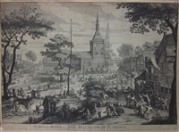 dorpsfeest in schellebelle by hendrik hondius the elder