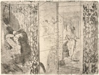 loges d'actrices by edgar degas