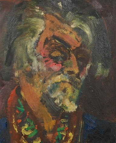 self portrait by sven berlin