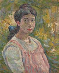 portrait de jeune femme by georges daniel monfreid