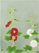 hollyhock by shoko uemura