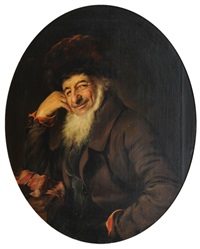 portrait of a jew by henriette kaergling-pacher