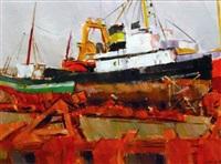 chantier naval by jean le merdy