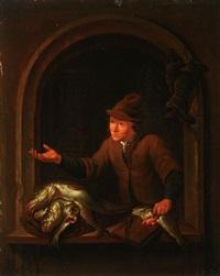 the fish seller by louis de moni