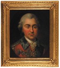 portret stanislawa poniatowskiego, bratanka króla stanislawa augusta by marcello bacciarelli