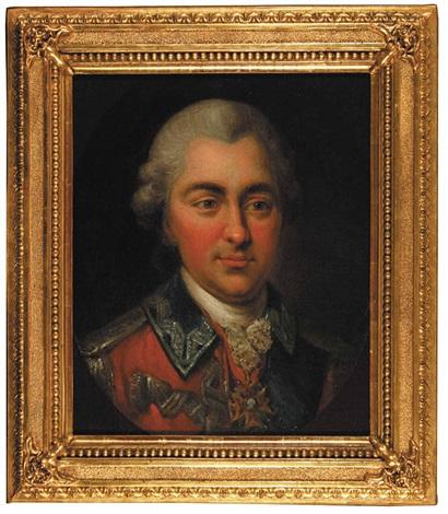 portret stanislawa poniatowskiego bratanka króla stanislawa augusta by marcello bacciarelli