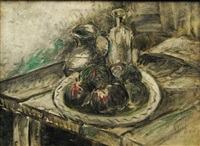 still life with figs by iosif rosenbluth