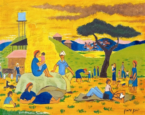 rest in the kibbutz by yohanan simon