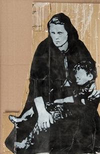 tinker and kid by jef aerosol