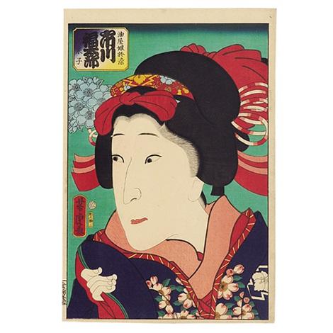 ichikawa fukutaro oban tate e by utagawa yoshitora