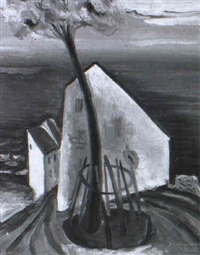 au bord de la mer by gea (georges) augsbourg