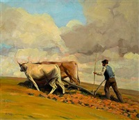 plowing the fields by vasilis germenis