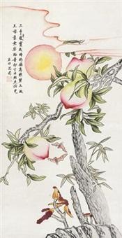 三千长寿图 by shen zhou