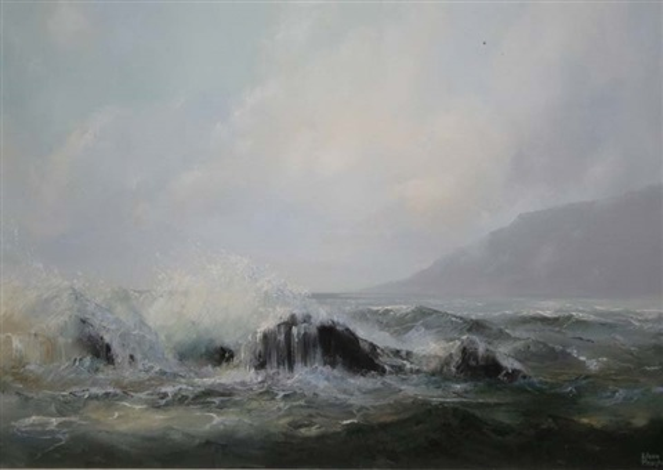 coastal landscape by eileen meagher