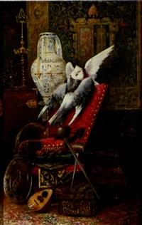 bodegón con palomas by horacio lengo y martinez