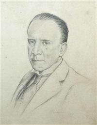portrait of kevin o'higgins by darius j. macegan