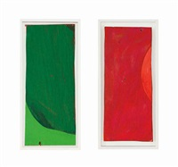 rempacabeza uno (2 works) by mary heilmann