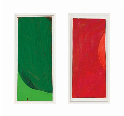 rempacabeza uno 2 works by mary heilmann