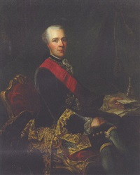 portrait of sir joseph yorke, later baron dover by guillaume jean joseph de spinny