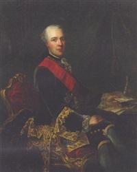portrait of sir joseph yorke, later baron dover by guillaume jean joseph de spinny