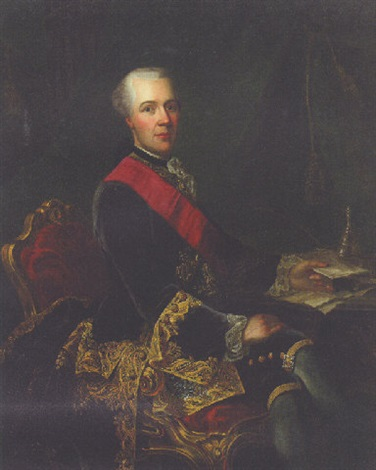 portrait of sir joseph yorke later baron dover by guillaume jean joseph de spinny