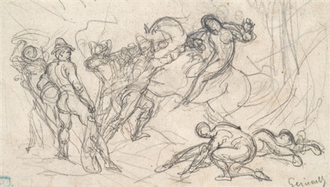 untitled study by théodore géricault