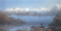 the lake of thun, switzerland by james whittet smith