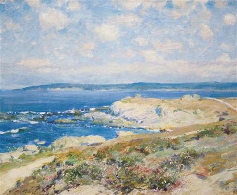 the shore road by guy rose