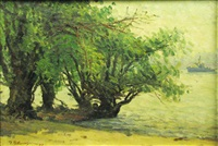 willow at the shore by paul atanasiu