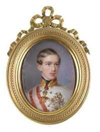 kaiser franz joseph i. von österreich by alois von anreiter