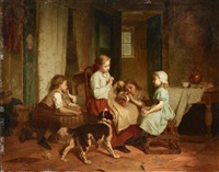 Afternoon pastimes, 1865