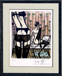 jeux de dames by bernard buffet