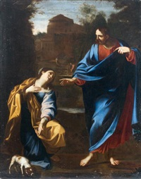 le christ et la samaritaine by annibale carracci