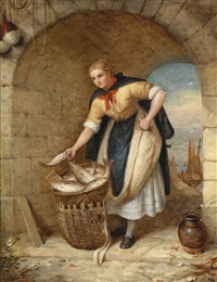die fischverkäuferin by alexander leggatt