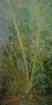 paisaje del prado by dolcey schenone puig