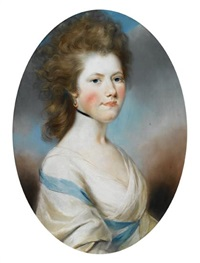 portrait of lady frances turnour by john russell