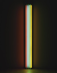 untitled (to mr. and mrs. giuseppe agrati) by dan flavin