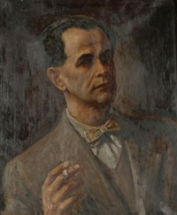 self-portrait by imre goth