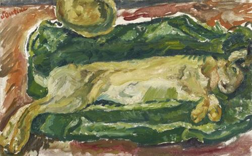 le lièvre by chaïm soutine