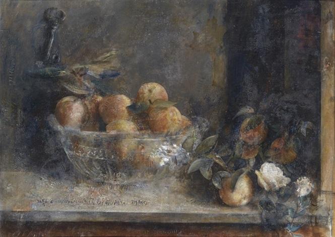 los melocotones y las rosas by antonio lópez garcía