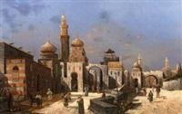 orientalische stadt by charles mertens