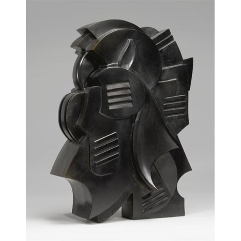 abstract sculpture by john bradley storrs