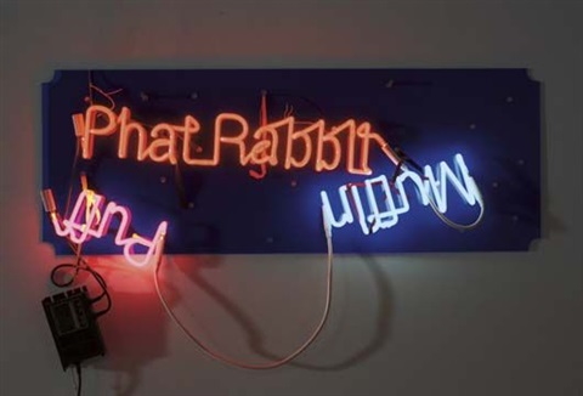 phat rabbit; muffin; puff by jason rhoades