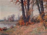 autumn countryside by otokar hurka