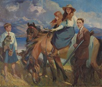 the guthrie children by frederic whiting