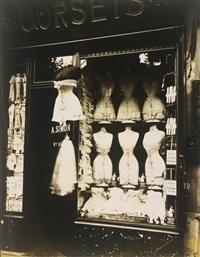 corsets (boulevard de strasbourg) by eugène atget