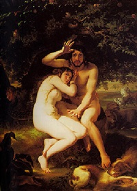 the banishment of adam and eve by giuseppe sogni