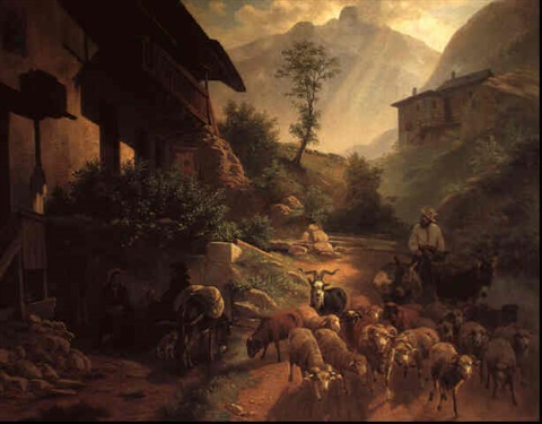 returning home by paul jean pierre gélibert